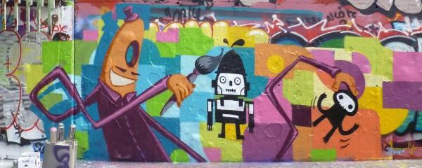 graffiti Mr Würst – collab