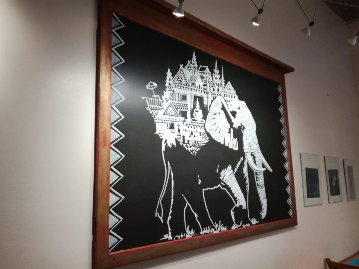 maison thai deco- abys-posca