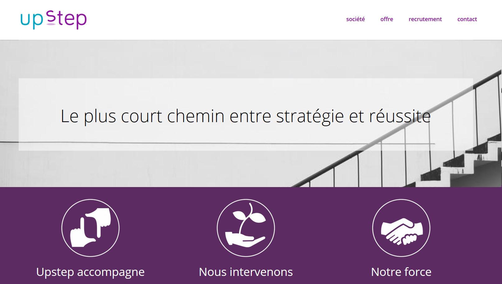 http://upstep.fr/ Le plus court chemin entre stratégie et réussite marketing & management
