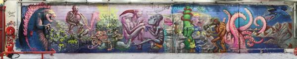 fresque 5ans Fukushima