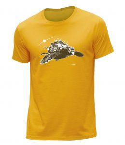 abys - da lyon -illustration turtle teeshirt