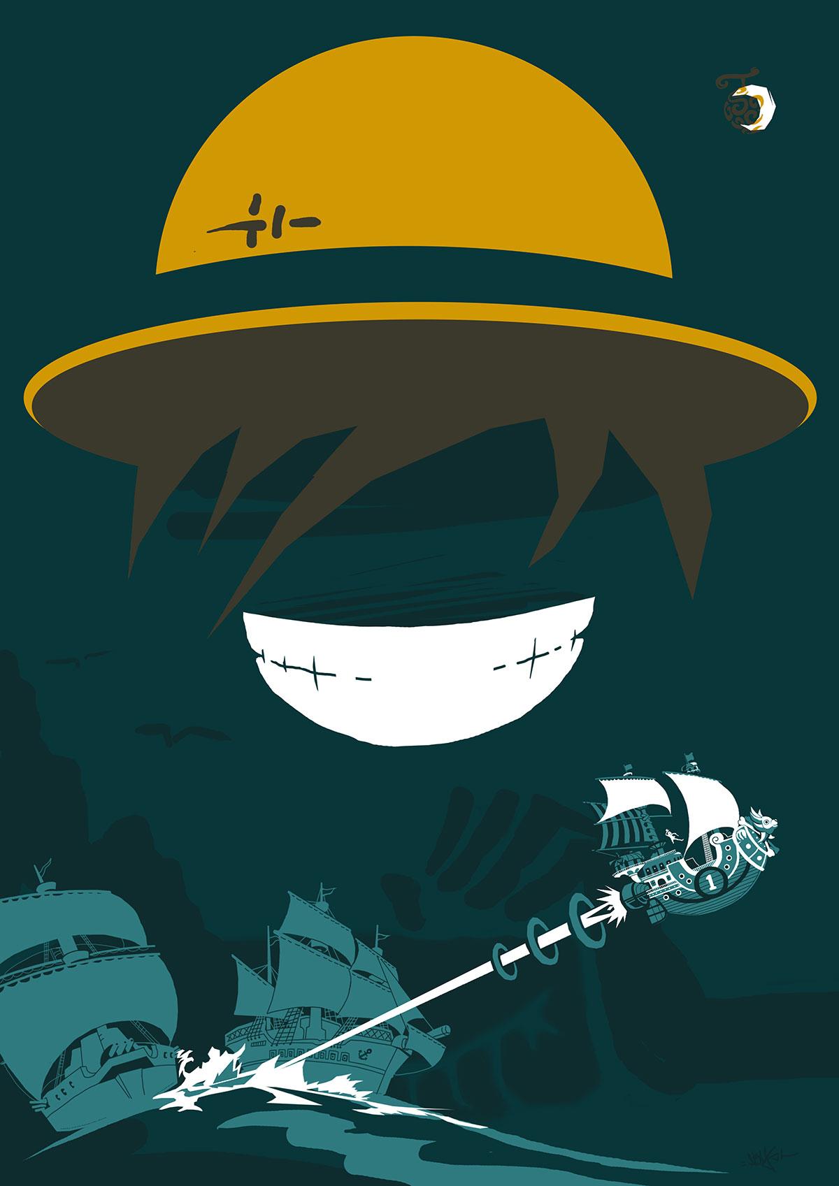 abys - da lyon - graphiste illustration kids manga comics fanartposter