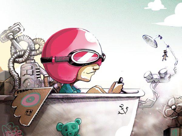 abys - da lyon - illustration graphique jeunesse ulysse