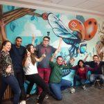abys - da lyon - graphiste streetart bird deligreen team