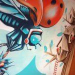 abys - da lyon - graphiste streetart bird deligreen