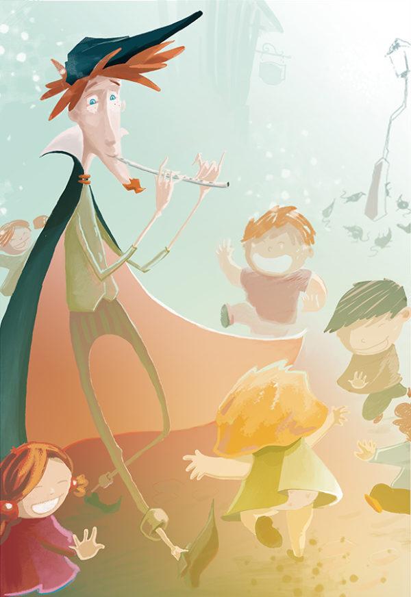 le joueur de flûte d'Hamelin – édition jeunesse
