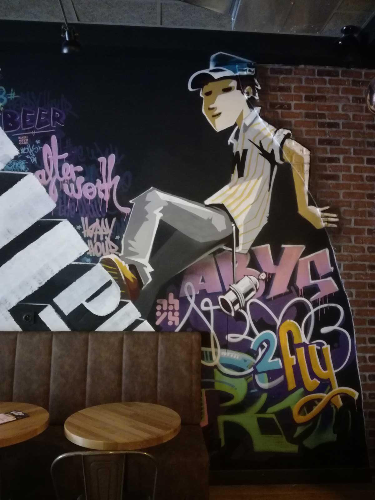 abys - graphiste illustration streetart lyon