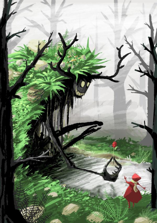 fairy tail – le petit chaperon rouge