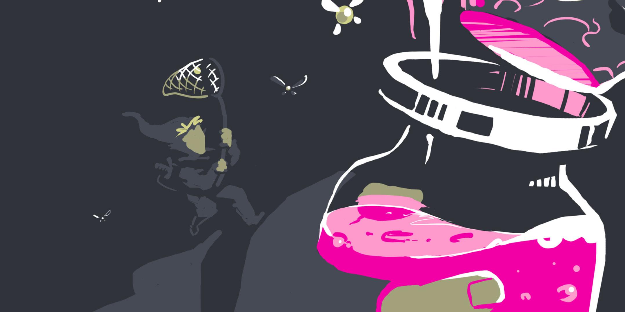 illustrateur - graphiste - abys da lyon fanart game zelda