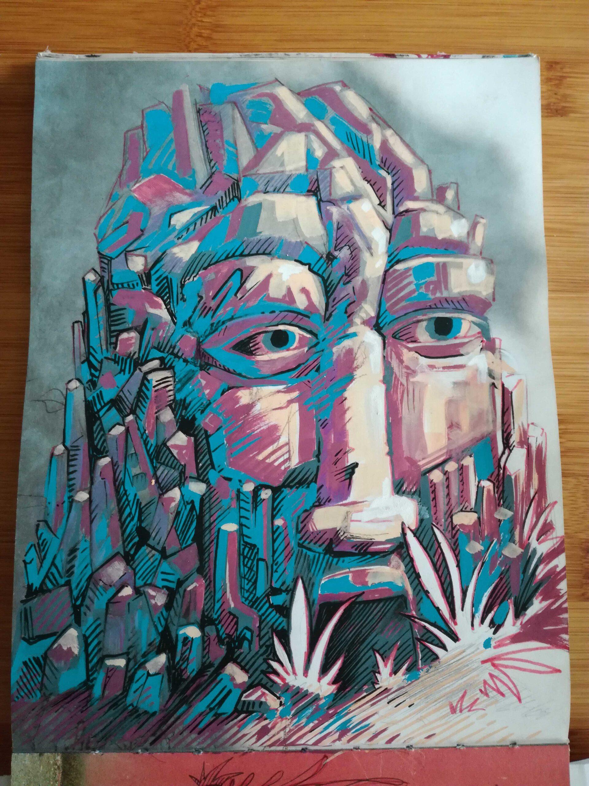stone spirit - illustration abys2fly lyon