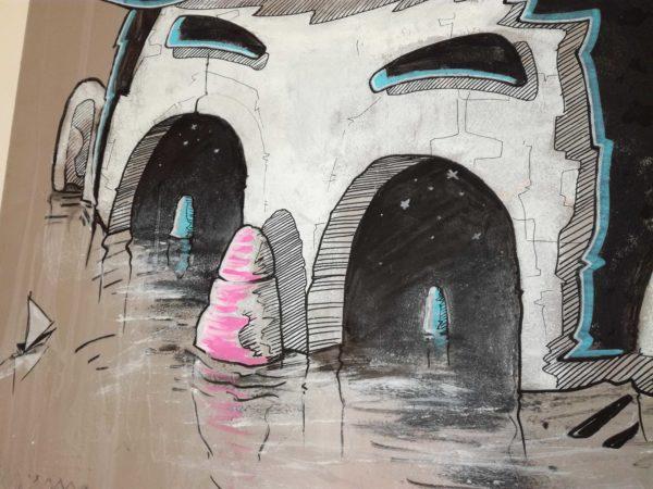 abys-illustration original paint -lyon dream
