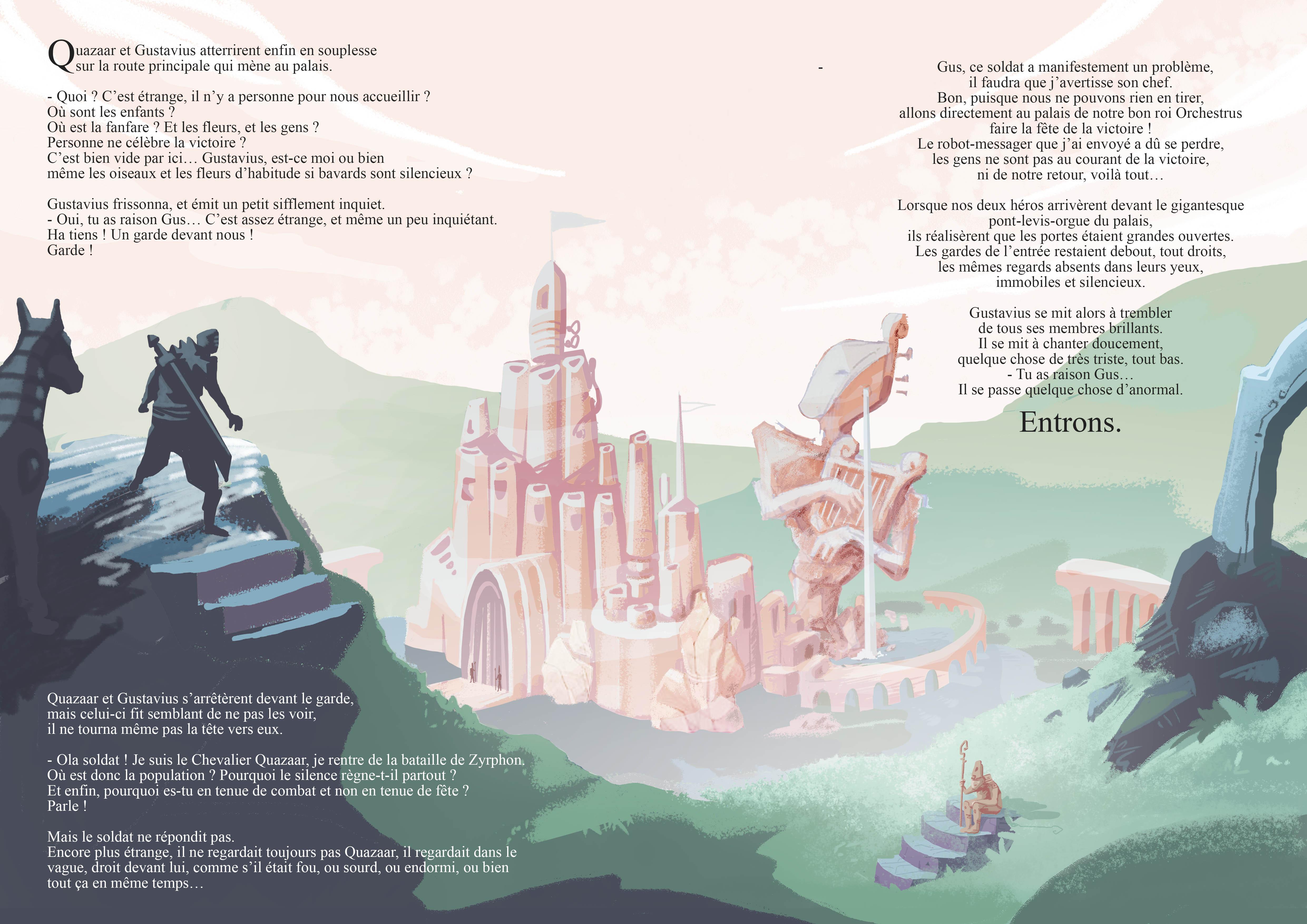 abys-illustration da-lyon rough fantasy word knight