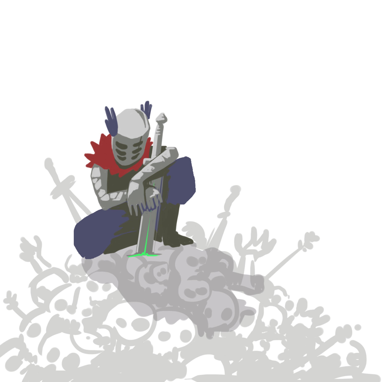 abys-illustration da-lyon rough fantasy engine knight death