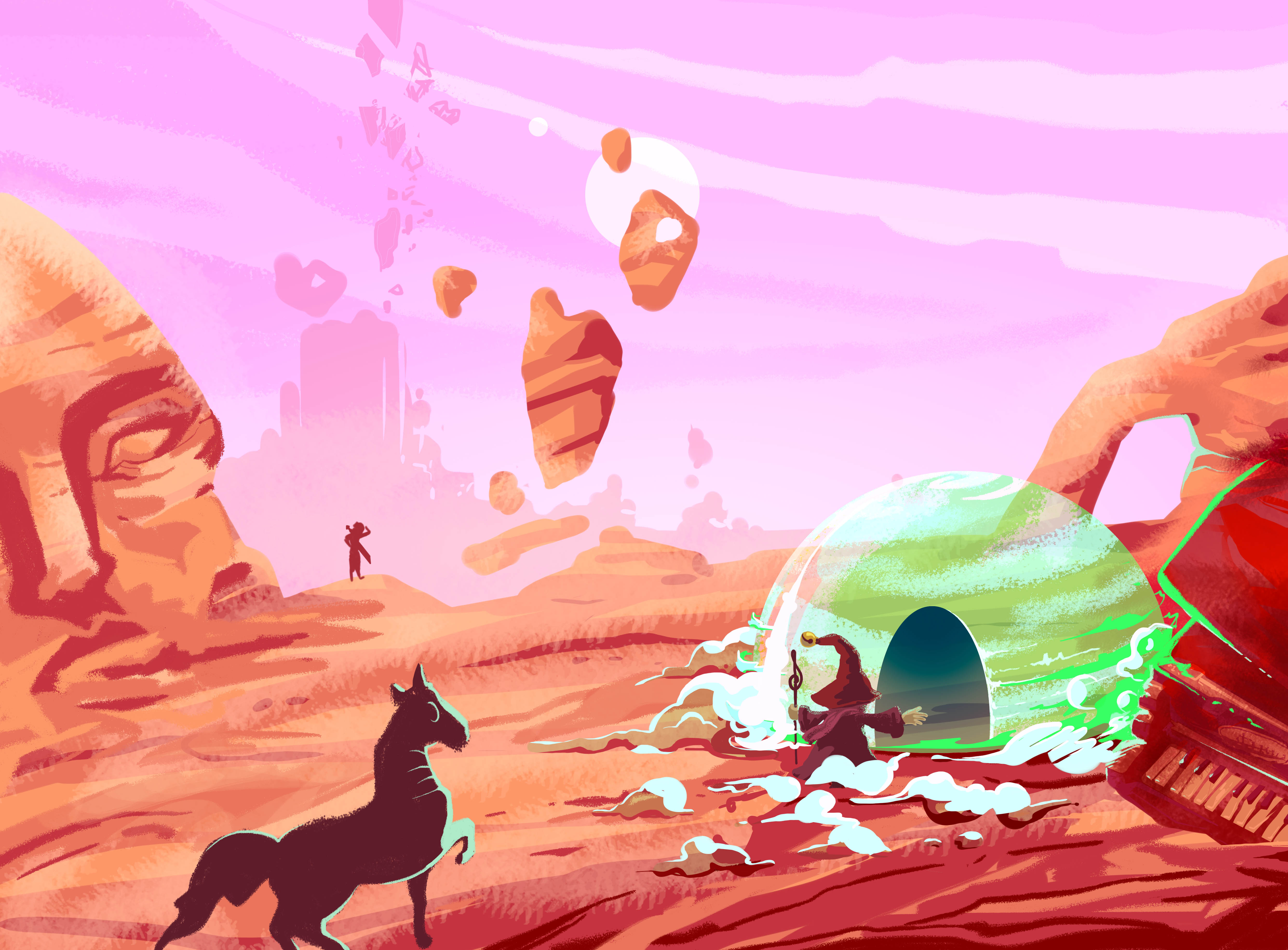abys-illustration da-lyon rough fantasy world