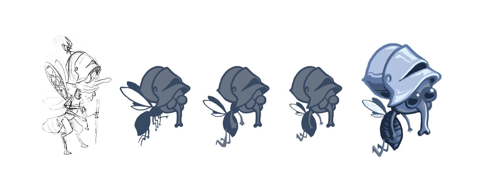abys-illustration da-lyon rough caracter design