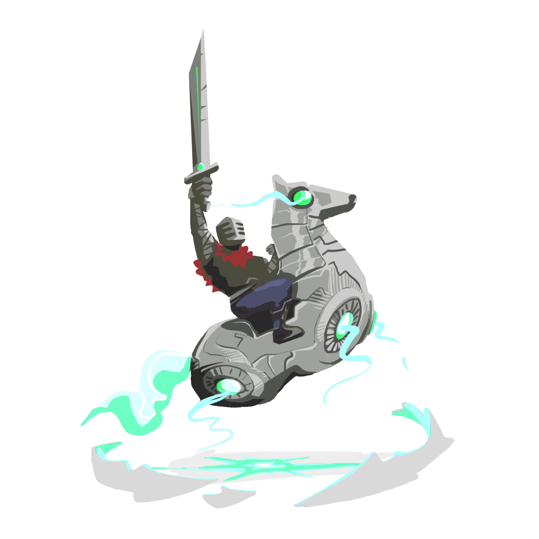 abys-illustration da-lyon rough knight king