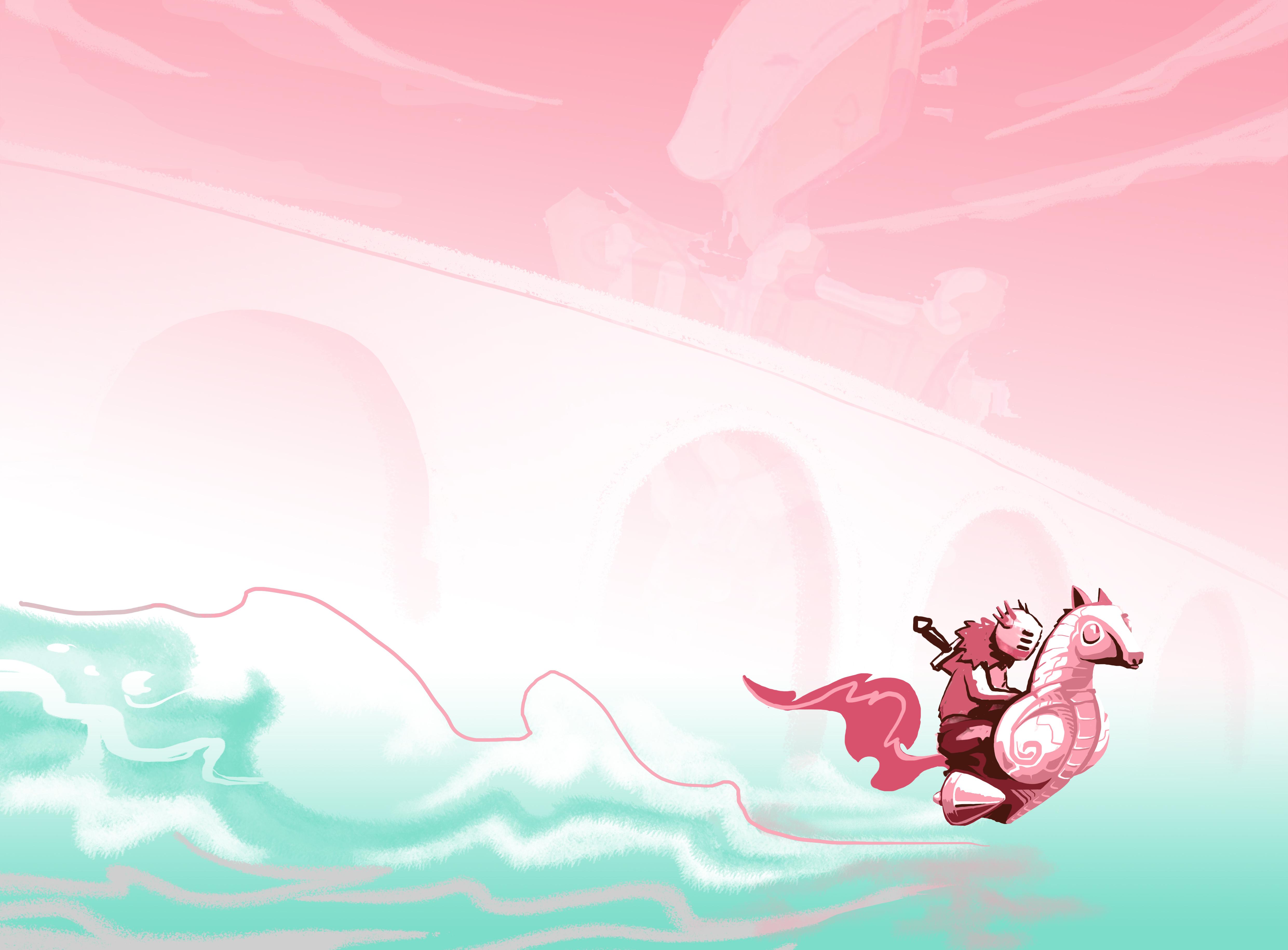 abys-illustration da-lyon rough fantasy engine knight king
