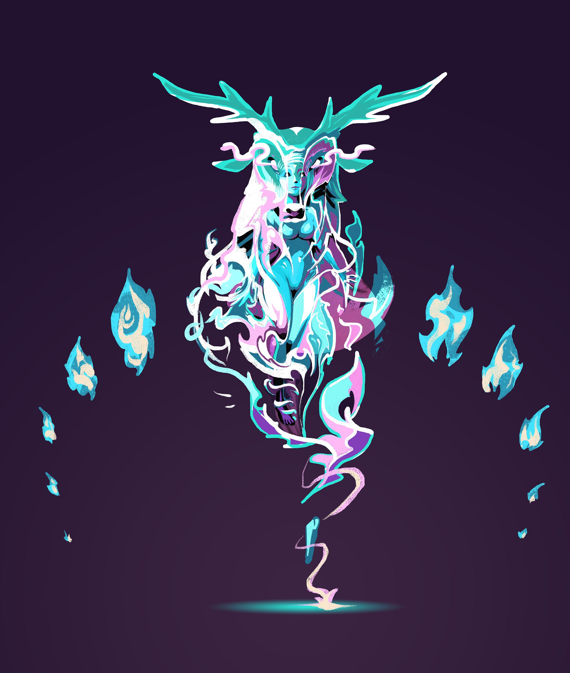 venus-abys-illustration-lyon - concept-art feminin sacré