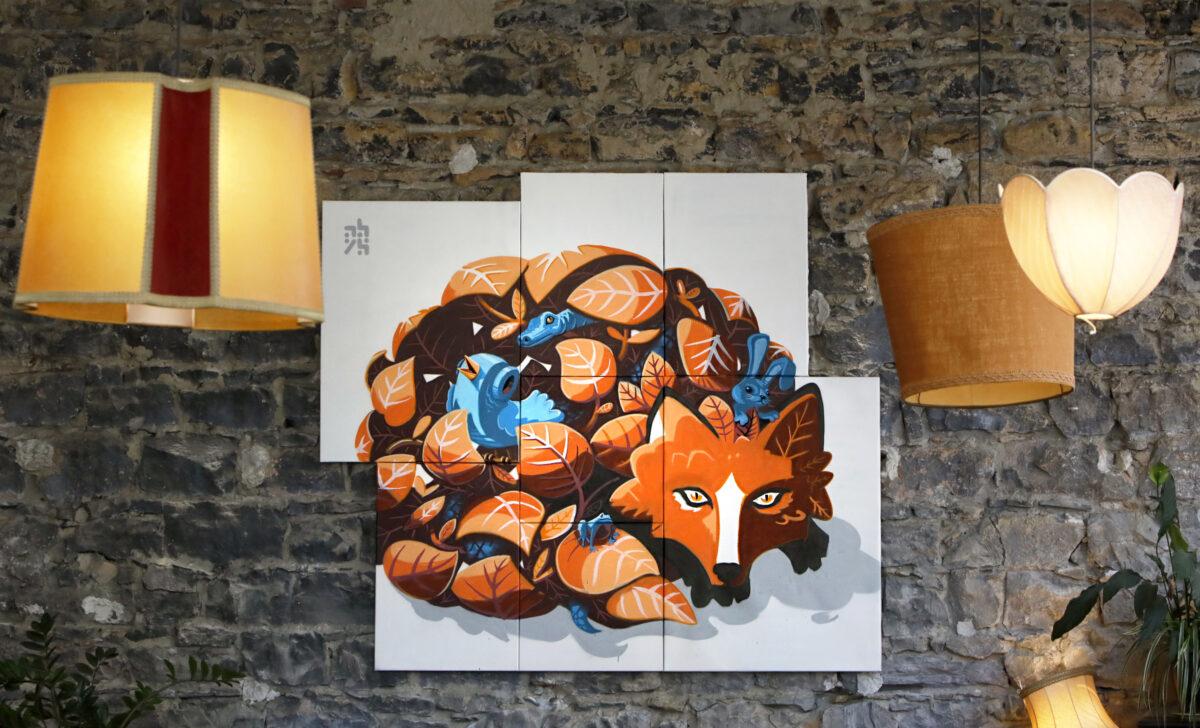 abys-illustration streetart - streetart-lyon tiger metaflaunes animals ebreed - photo cedric darbord