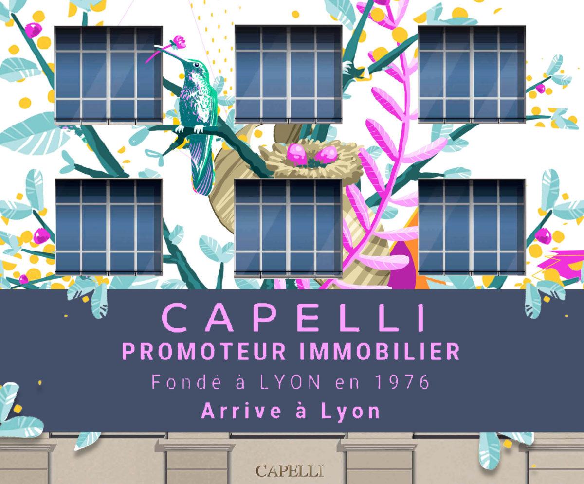 Capelli immobilier -illustrateur-graphiste-lyon -abys