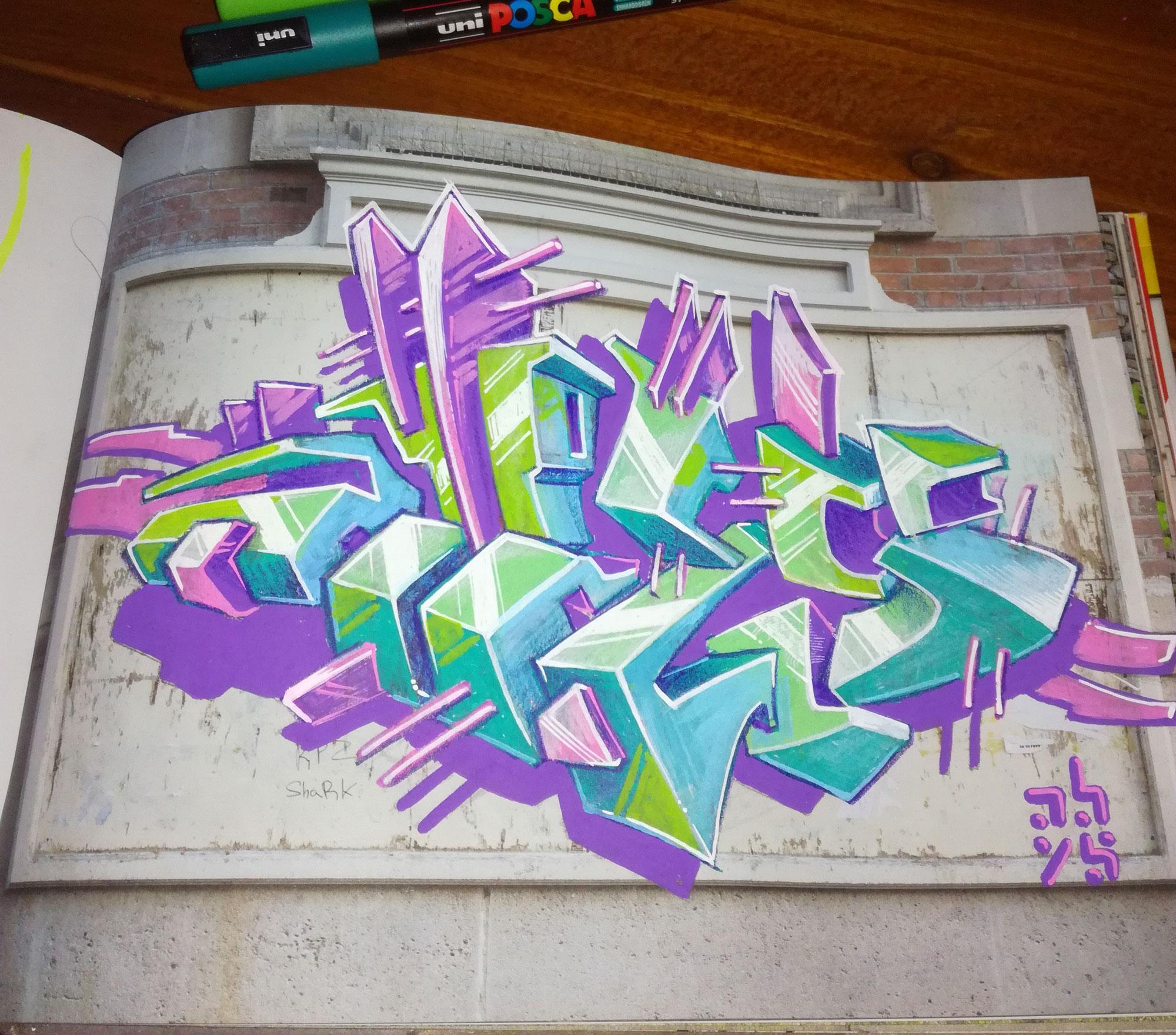 lettrage-abys-posca graffiti art