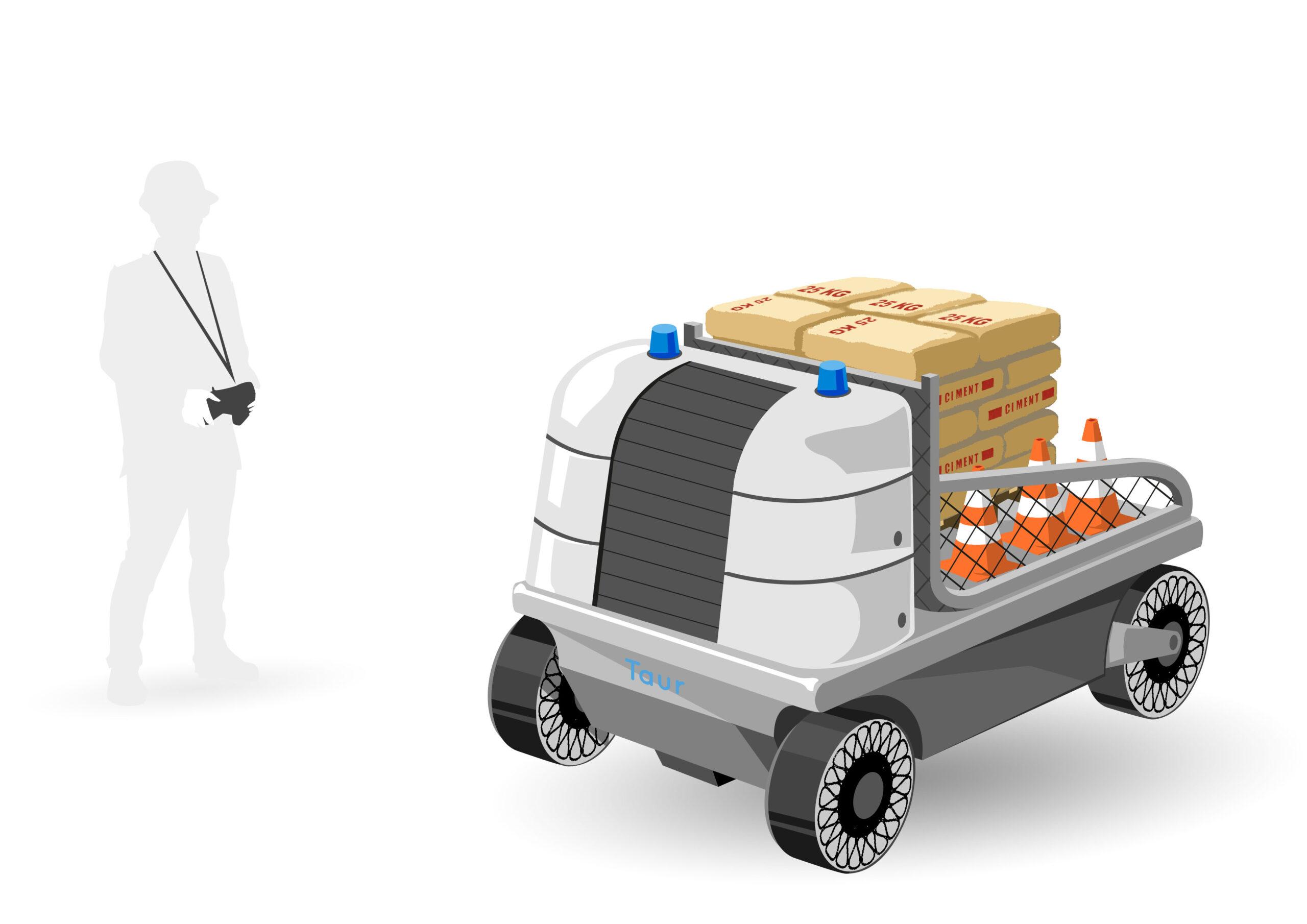 conceptcar - design - concept art - illustration - lyon - drone taur - transport charge lourde