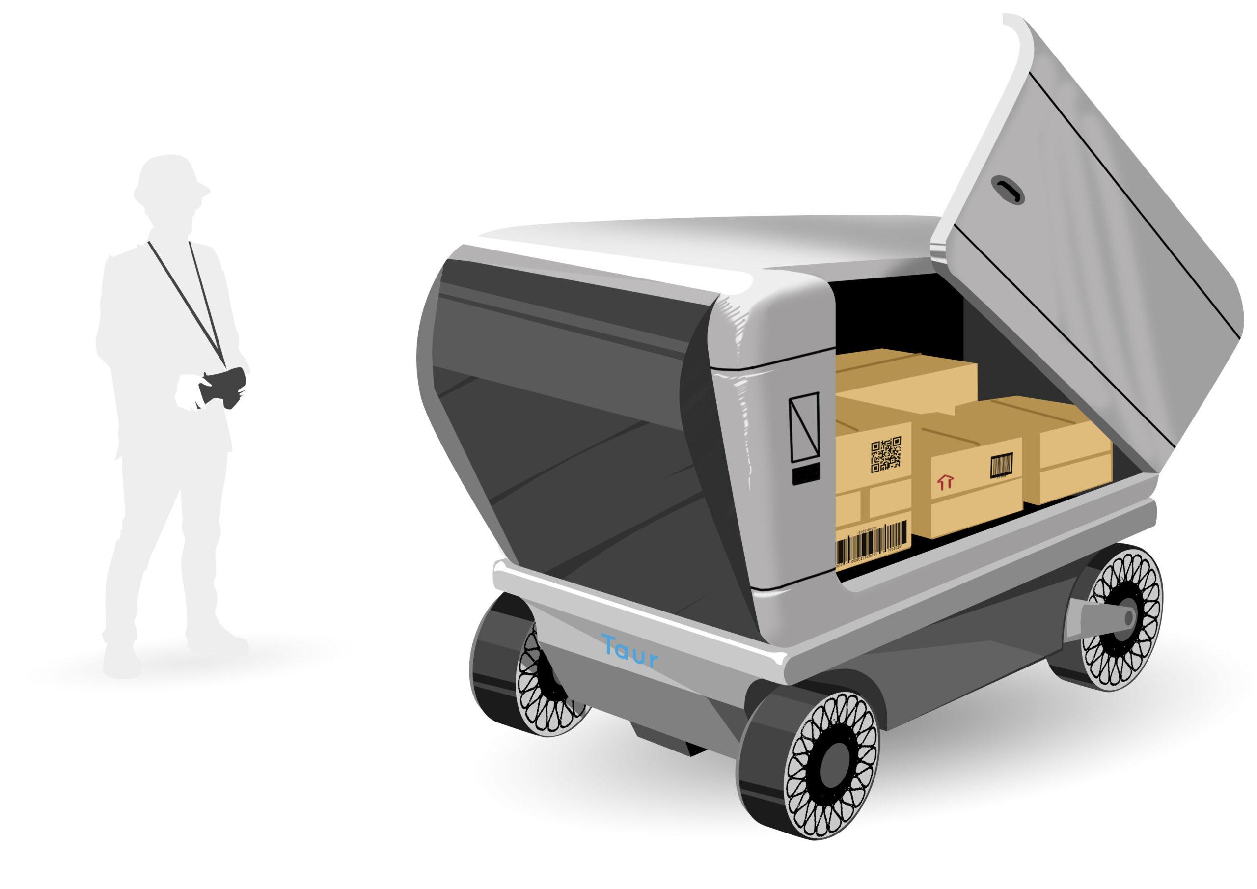transport charge lourde - conceptcar - design - concept art - illustration - lyon - drone taur