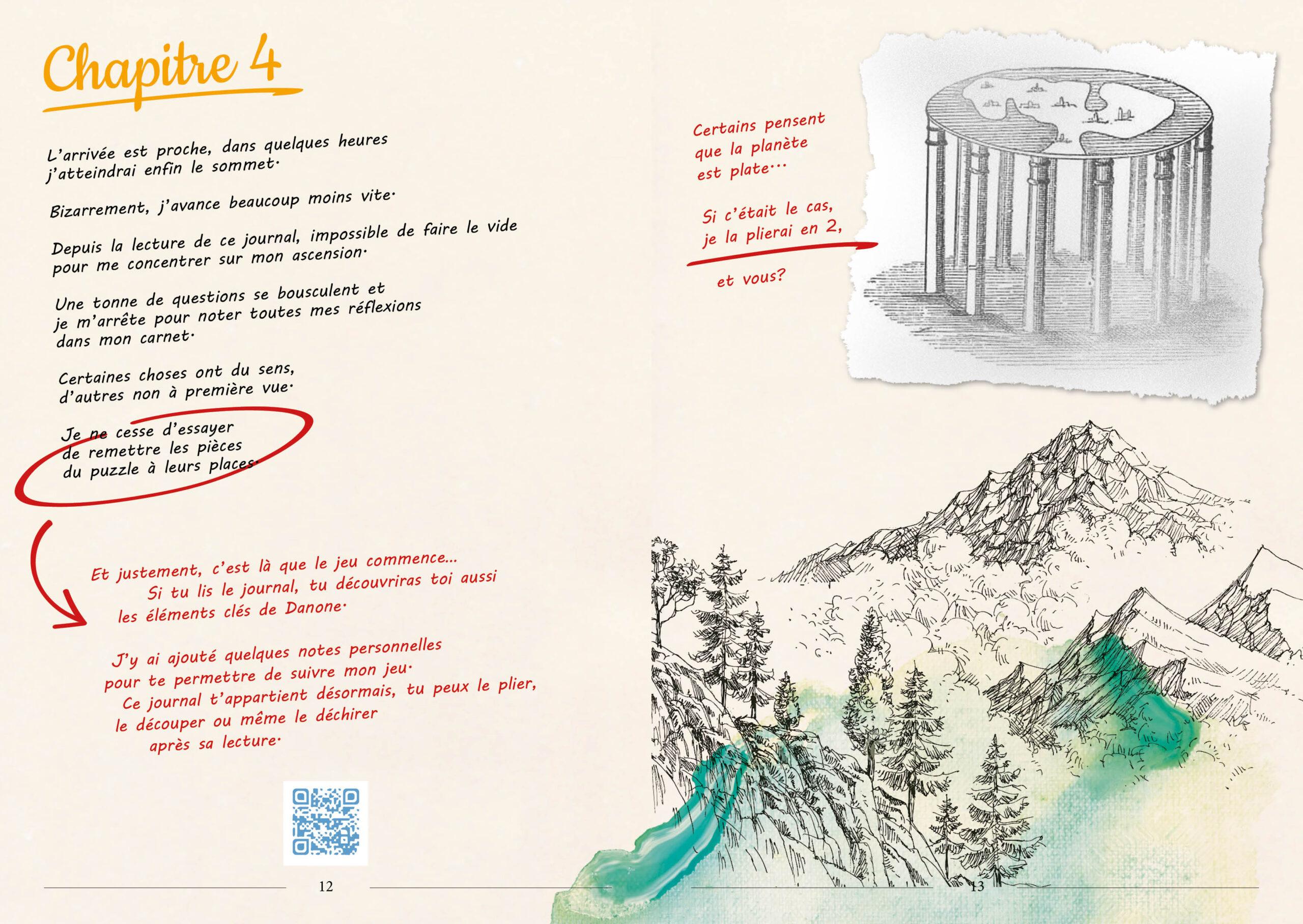 graphisme danone illustration - aquarelle - pastel bleu doux - direction artistique - abys