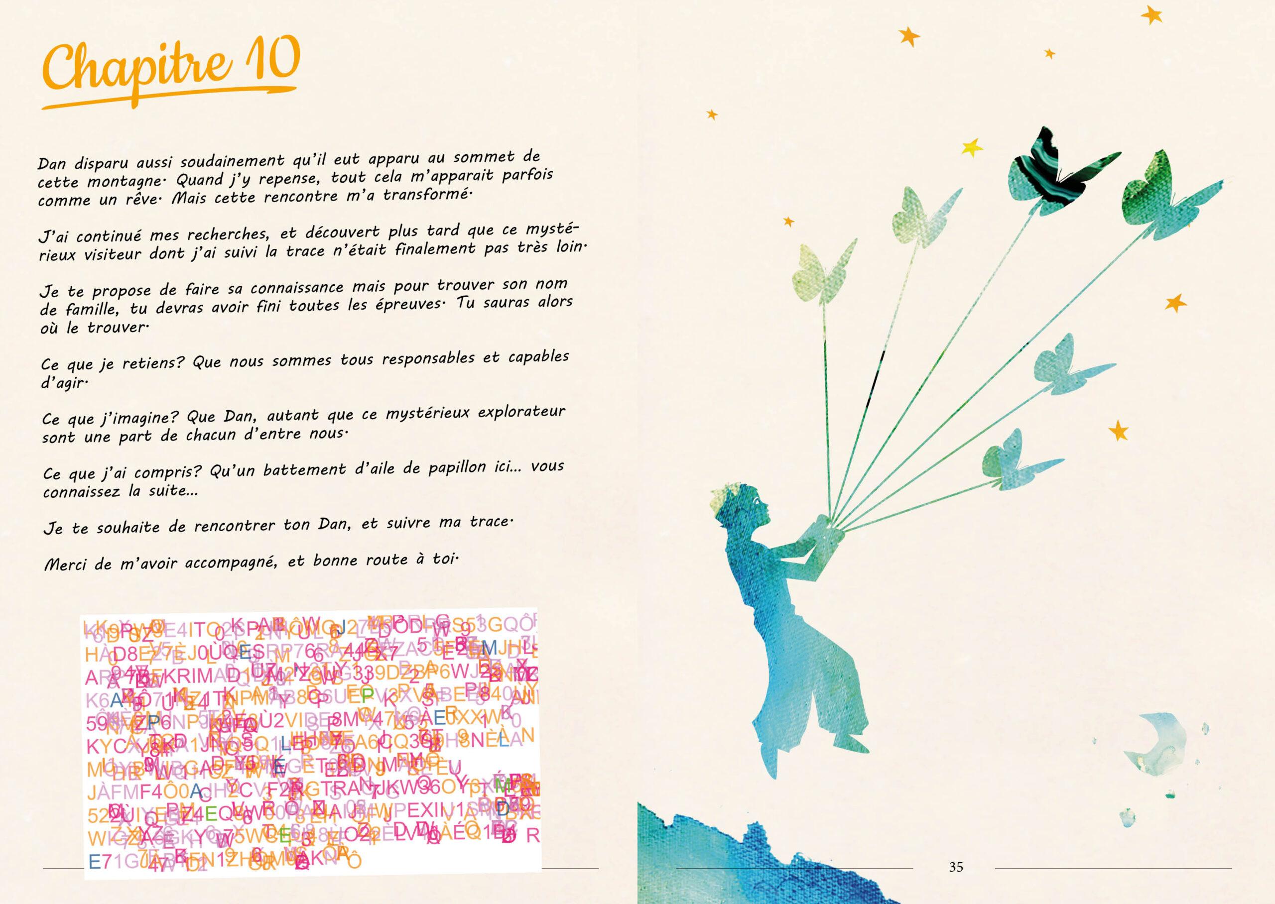 graphisme danone illustration - aquarelle -papillon doux - direction artistique - abys