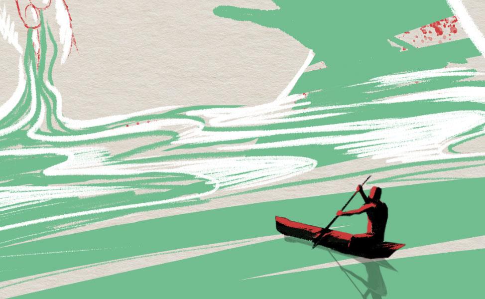 live painting illustration festival oser etre initiart - le creusot - abys2fly - conteuse laurence hilaire - l'arc